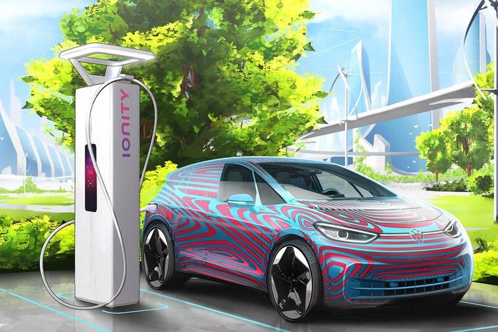 A Volkswagen 36.000 töltőpontot tervez az elektromos autók számára Európában