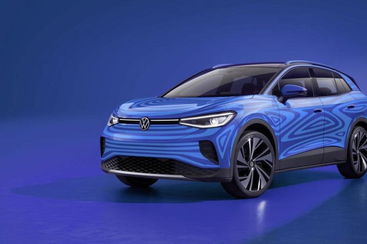 A Volkswagen bemutatta az új tisztán elektromos ID.4 kompakt SUV-t