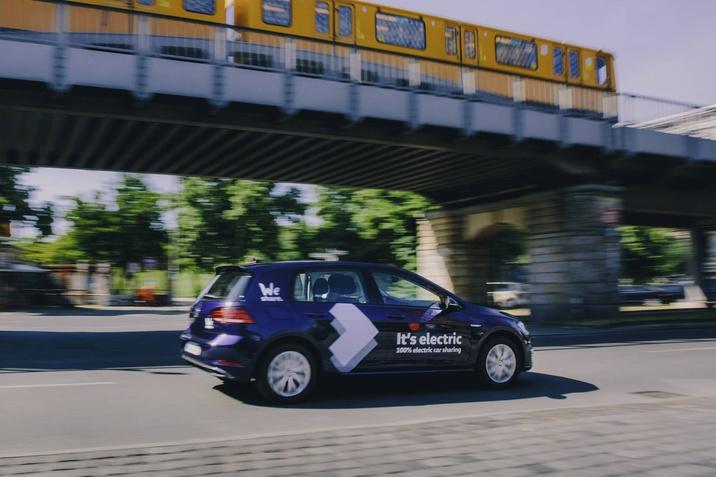 A Volkswagen Berlinben elindította WeShare elektromos autómegosztó szolgáltatását