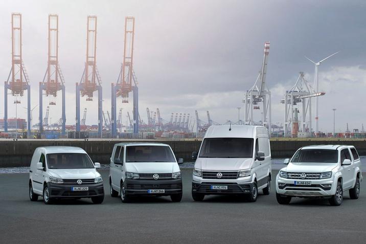 A Volkswagen Haszonjárművek sikeresen, a kiszállítások 14,4 %-os növekedésével kezdte az új esztendőt